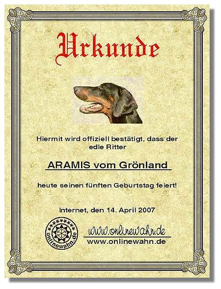 Edler Ritter Aramis