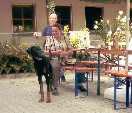 © Hühnerhunde - Tito Besuch Tierheim