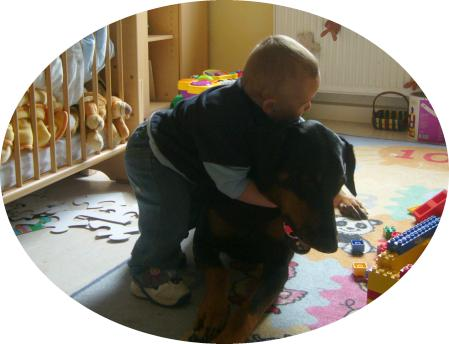 © www.dobermann-spike.de.tc - Vin und Spike